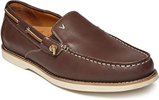 Men's Spring Greyson Boat Shoe - Slip-on with Concealed Orthotic Arch Support