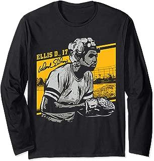 Dock Ellis Ellis Rollers Portrait Long Sleeve T-Shirt