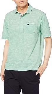 (マックレガー) McGREGOR 【吸汗速乾】 スラブ 鹿の子 ポロシャツ ライトグリーン Mサイズ