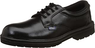 Allen Cooper AC-1469 Executive Safety Shoe, DIP-PU Sole, Black, Size 7