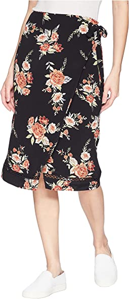 Wallflower Wrap Skirt