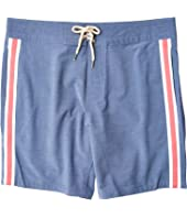 Retro Surf Stripe Boardshorts