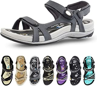 Gold Pigeon Shoes Signature Sandal: Comfort Walking Ergonomic Flip Flops, Slides &..