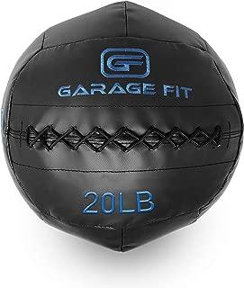 Garage Fit Wall Ball/WallBalls/Soft Medicine Balls/Wall Balls - 4, 6, 8, 10, 12, 14, 16, 18, 20, 25, 30 and 40Lbs - 1.8, 2.7, 3.6, 4.5, 5.5, 6.4, 7.3, 8.2, 9.1, 11.3, and 13.6 kg