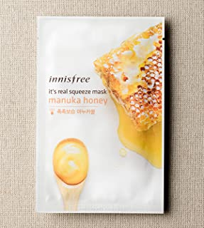 innisfree It's real squeeze mask (15 pack, Manuka Honey)