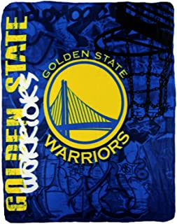 20502cfc1a1 NBA Golden State Warriors Fleece Throw Blanket 50 inch by 60 inch
