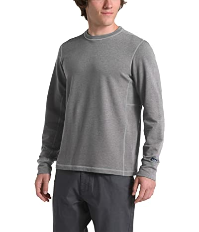 The North Face Long Sleeve TNF Terry Crew (TNF Medium Grey Heather) Men