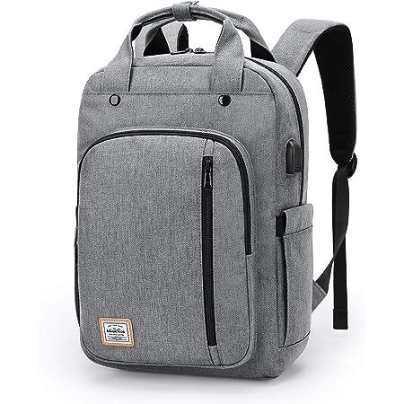 WindTook Sac à Dos Femme/Homme Sac a Dos Ordinateur Portable 15 Pouces avec Port de Charge USB pour Loisirs/Affaires/Collège/Voyage