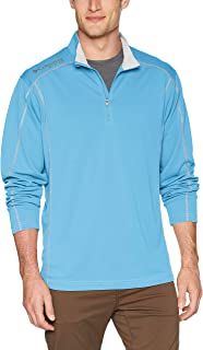 Columbia Men's PFG Low Drag 1/4 Zip Pullover, Moisture Wicking, Sun Protection