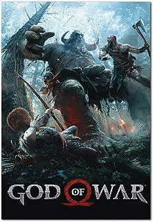 Best god of war 2018 poster Reviews