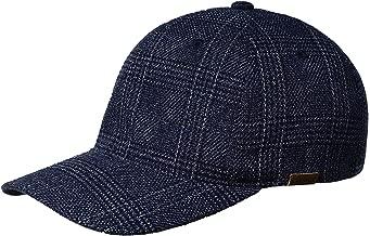 Kangol K5143HT Pattern Flexfit Baseball Baseball Cap, Navy Check, S/M