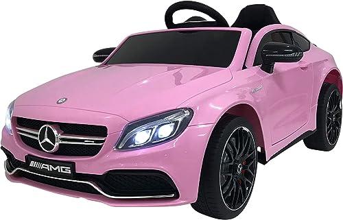 costo real OutdoorToys Mercedes-Benz C-Class - Batería para Niños (12 V, con con con Luces, música y Mando a Distancia azultooth de 2,4 GHz, 4 Colors) (Producto con Enchufe de UK)  excelentes precios
