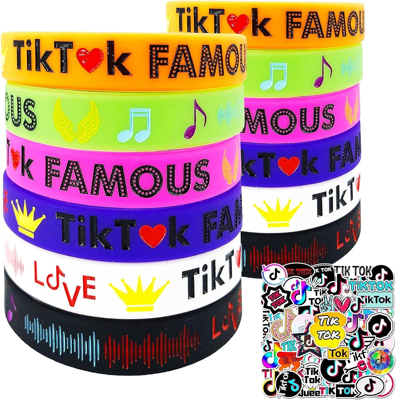 Tik Tok 1 year warranty Super sale Party Decorations for Fans PCS 12 Boys Girls