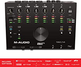 M-Audio USB-C 8-In/4-Out Audio MIDI Interface with Studio Software Incl. ProTools First, Ableton Live Lite, Eleven Lite & Avid Effects Collection, Plus FX & VIs from AIR Music Tech 192 14