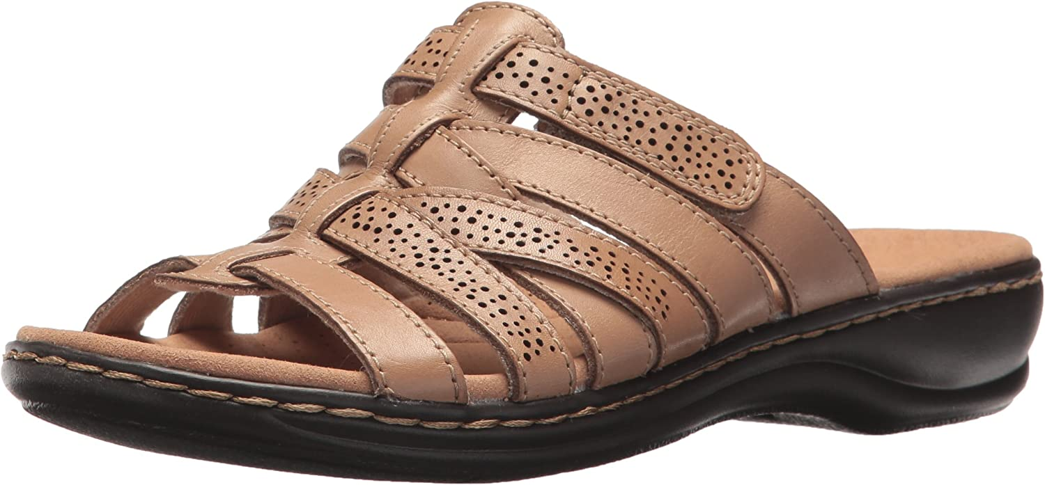 Clarks Women's Leisa Field Flat Sandals