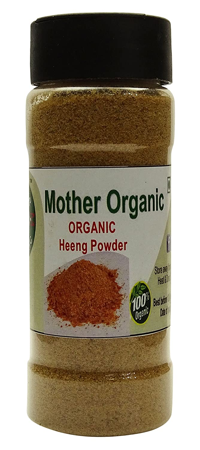 Mother Organic 3.5 Ounce Chemical Asafoetida Free Powder USDA In Ranking integrated 1st place stock -