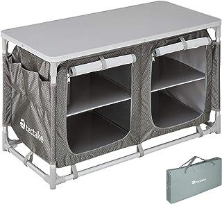 TecTake 800585 - Cocina de Camping, Aluminio, Ligera,