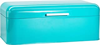 Large Turquoise Bread Box - Extra Large Storage Container for Loaves, Bagels, Chips & More: 16.5