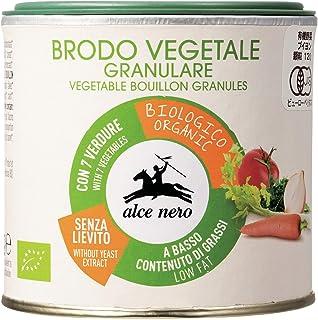 ALCE NERO(アルチェネロ) 有機 野菜ブイヨン パウダー タイプ 120g (オーガニック イタリア産 添加物不使用 化学調味料不使用 顆粒タイプ)