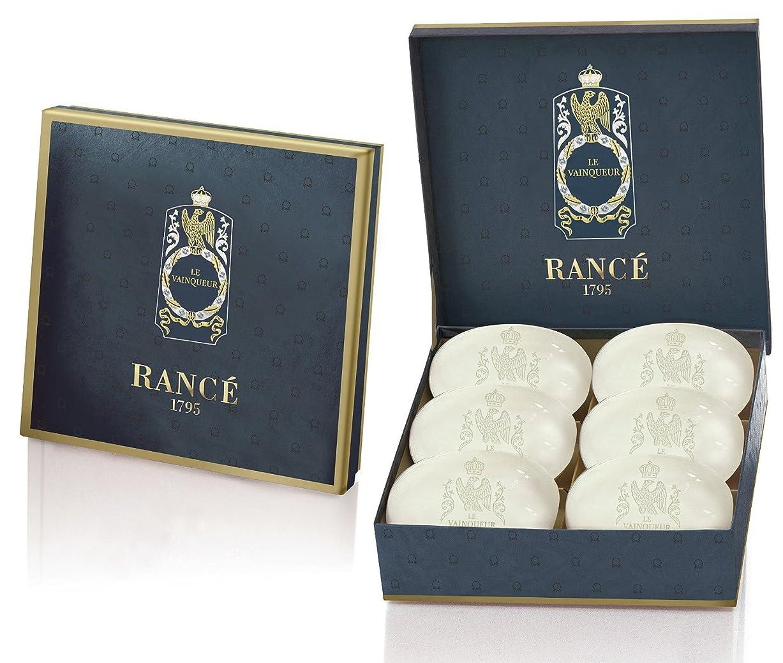 ピジン離れて前Rancé Le Vainqueur Soapbox(ランセ ル ヴァンカー ソープボックス)6 x 100g [並行輸入品]
