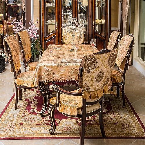 European-Style-Tischdecke Tuch Spitzen Tischdecke Rechteckiger Couchtisch-Tuch Tischdecken Tischsets-A 140x180cm(55x71inch)