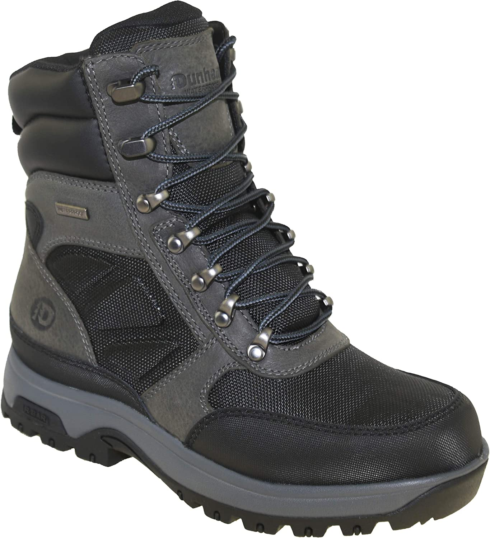 Dunham Men's 8000Works 8-Inch Ubal Soft Toe Waterproof Work Boot