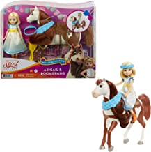 Spirit Untamed Miradero Festival Abigail Doll (7-In/17.78-cm) with Dress, Floral Crown & Boomerang Horse (8-In/20.32-cm), ...