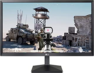 LG 22 inch Gaming Monitor - 1ms, 75Hz, Full HD, AMD Freesync, TN Panel Monitor, HDMI & VGA Port - 22MK400H (Black)