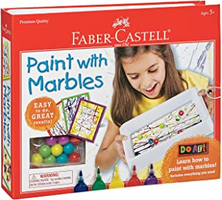 Faber-Castell Do Art Paint with Marbles - Abstract Art Painting Set for Kids