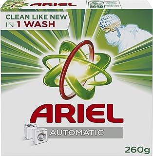 Ariel Automatic Laundry Powder Detergent, Original Scent, 260 G