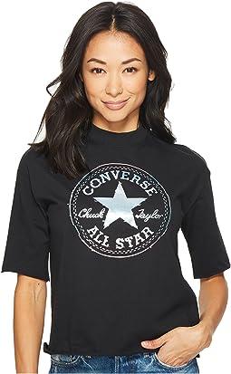 Converse - Shine Pack Foil CP Mock Neck T-Shirt