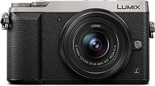 Panasonic Lumix DMC-GX80 - Cámara Digital de 16 MP Pantalla Táctil de 3 4592 x 3448 Píxeles 4/3 Live Mos 4K Ultra HD Color Plata (Versión Importada)
