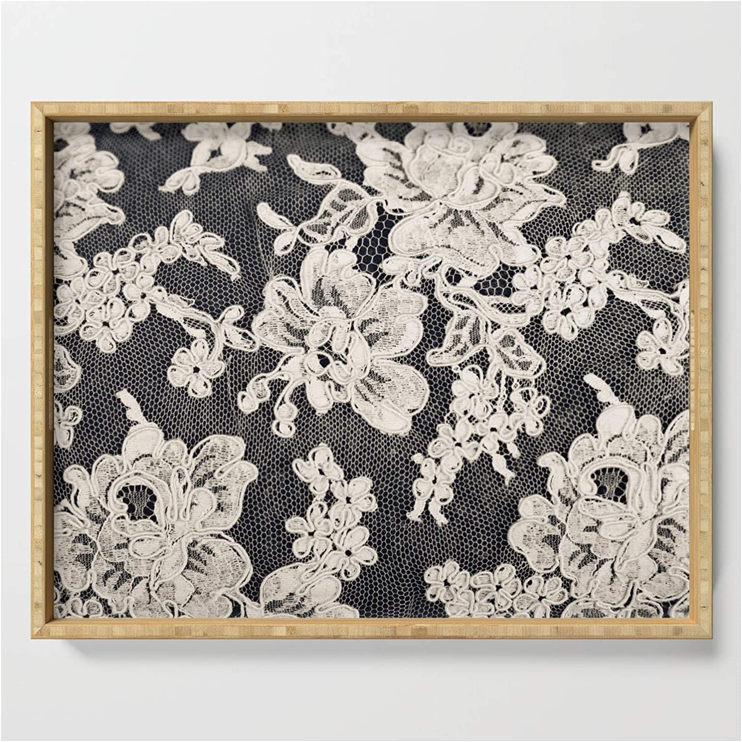 Black And White Lace- Photograph Of El Paso Mall Vintage by Discount mail order Sylvia Cook Lace