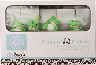 DK Leigh Frog Baby Musical Mobile, Green/Lime/Brown by DK LEIGH