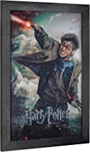 """Officially Licensed Harry Potter and The Deathly Hallows Part II Framed Poster Wall Art (19"""" H x 13"""" L)"""