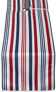 DII 100% Polyester Table Runner, Spilll Proof and Waterproof for Outdoor or Indoor Use, Machine Washable With Zipper & Umb...
