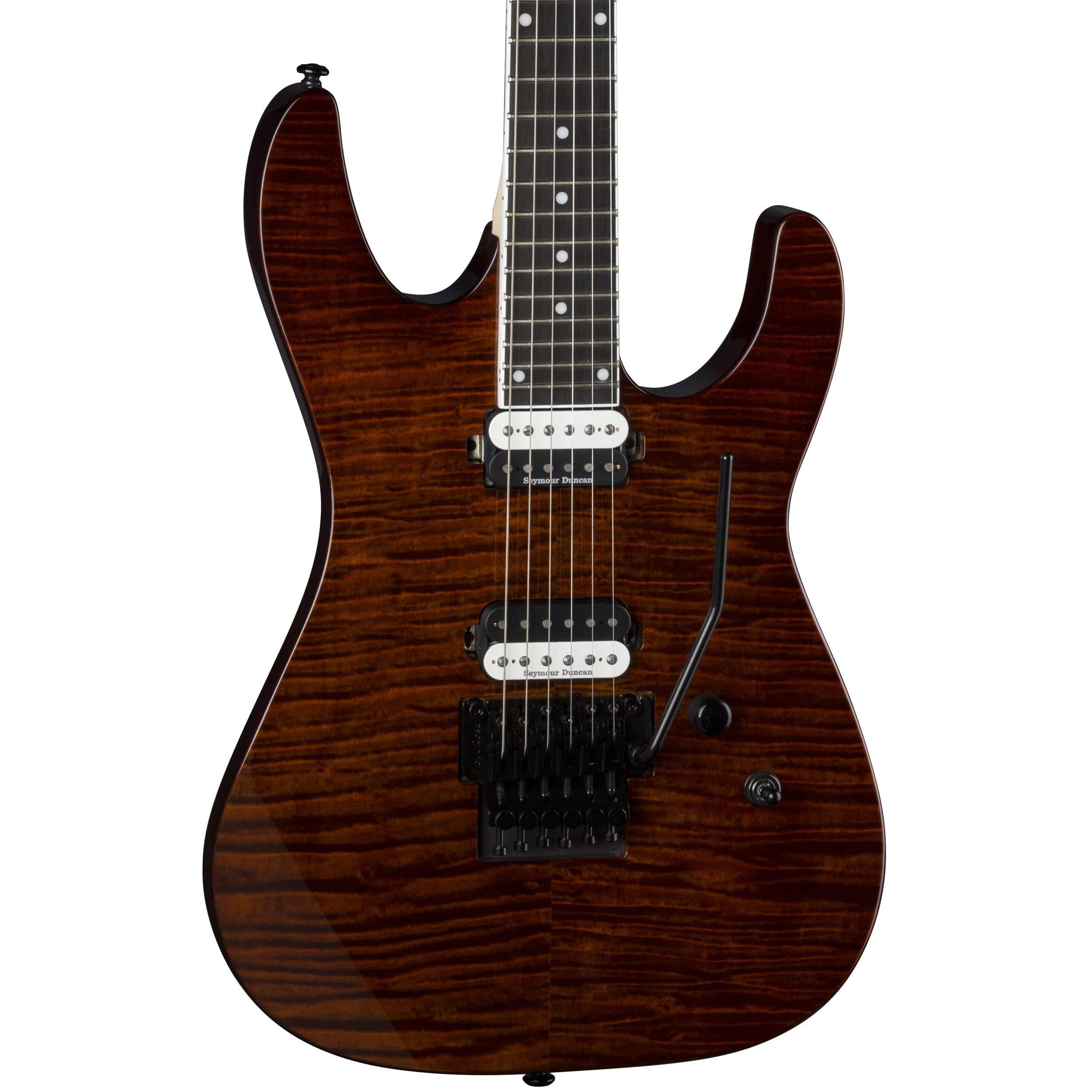 Cheap Dean Modern 24 Select Flame Top Floyd Rose Electric Guitar Tiger Eye Black Friday & Cyber Monday 2019