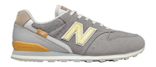 New Balance Side Stitched Logo Contrast Tab Lace up Sneakers For Women 36.5 EU