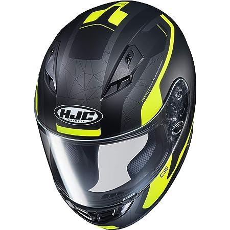 Hjc Helmets Herren Nc Motorrad Helm Schwarz Gelb Xs Auto