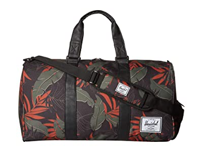 Herschel Supply Co. Novel (Dark Olive Palm) Duffel Bags