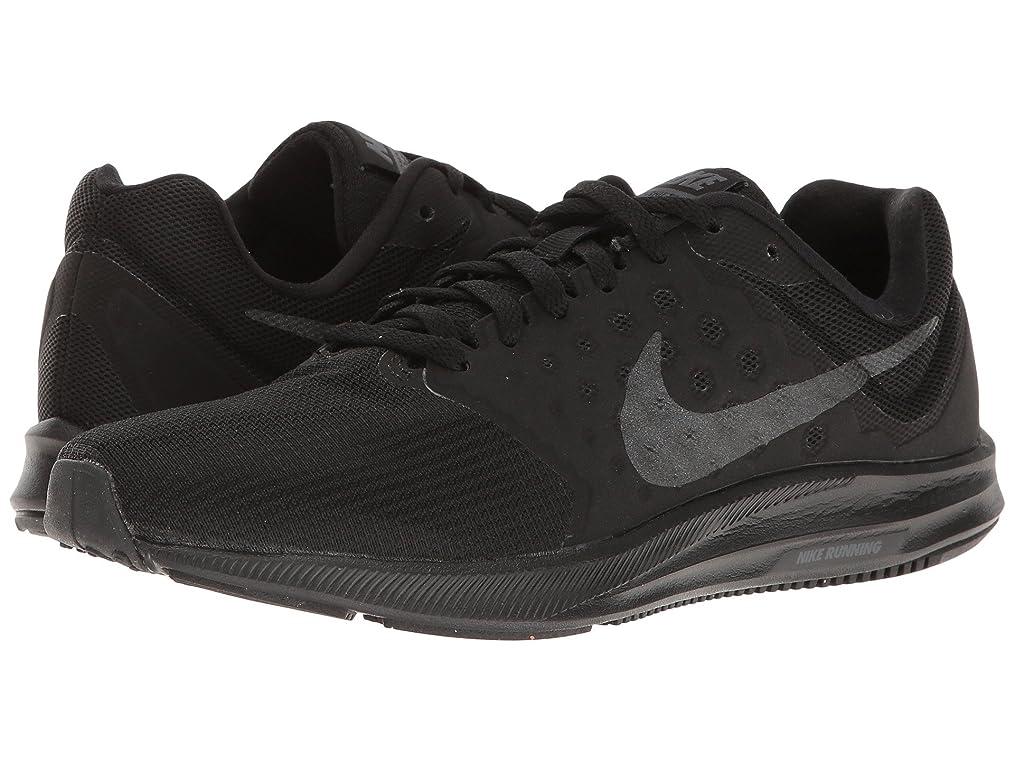 キネマティクス通訳バレエ(ナイキ) NIKE レディースランニングシューズ?スニーカー?靴 Downshifter 7 Black/Metallic Hematite/Anthracite 9.5 (26.5cm) B - Medium