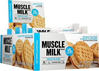 muscle milk protein bar nutrition
