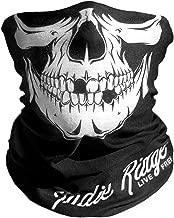 Skull Outdoor Motorcycle Face Mask By Indie Ridge - Microfiber Multifunctional Seamless Headwear