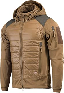 M-Tac Quilted Lightweight Tactical Jacket - Packable Puffer Jacket Men Hooded