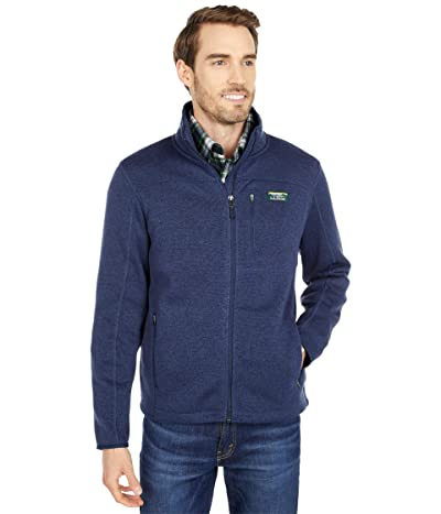L.L.Bean Sweater Fleece Full Zip Jacket (Bright Navy) Men