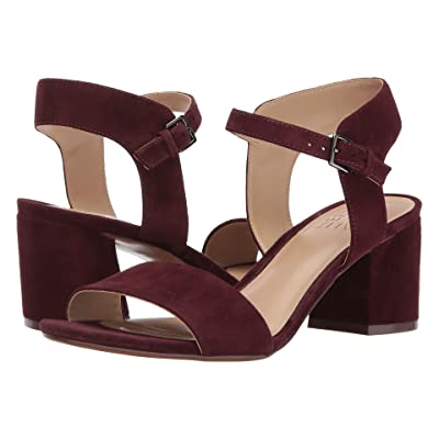 Naturalizer Caitlyn (Bordo Suede) Women