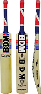 BDM Dynamic Power Super Cricket Bat with Carry English Willow Wood Short Handle