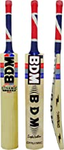 BDM Dynamic Power Super Cricket Bat with Carry English Willow Wood Short Handle- Adult Sizes 5
