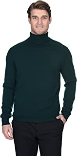 mens brown turtleneck shirt