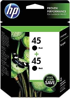 HP 45 Twinpack Black Original Inkjet Print Cartrid